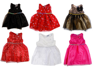 Ex O-hK-sh Girls Dress - £3.50