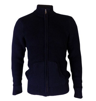 Ex F-F Mens Heavy Zipped Jumper  - £4.95