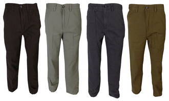 Ex Major High Street Mens Twill Trousers  - WAS £4.95   NOW £3.00