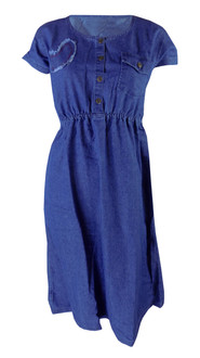 Ex Major High Street  Ladies Long Denim Dress - £4.95