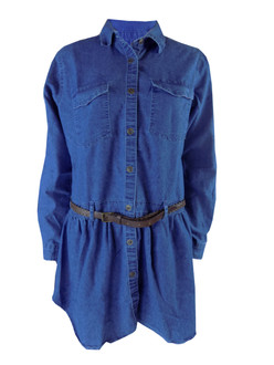 Ex Major High Street  Ladies  Denim Dress - £4.95