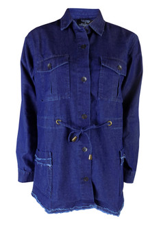 Ex B-rshka Ladies Denim Shirt - £4.95