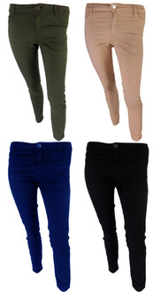 Ex B-rshka Ladies High Waist Skinny Jeans - WAS £4.50   NOW £2.50