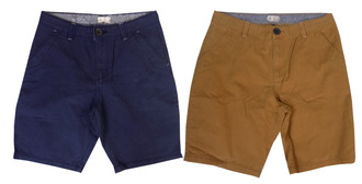Ex Major High Street Mens Chino Shorts - £4.95