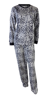 Ex Major High Street Ladies Fleece Pyjama Set - £4.95