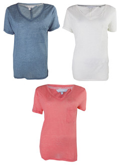 Ex N-xt Ladies Linen V-Neck Tops - £2.50