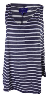 Ex N-xt Ladies Sleeveless Navy Top - £1.75