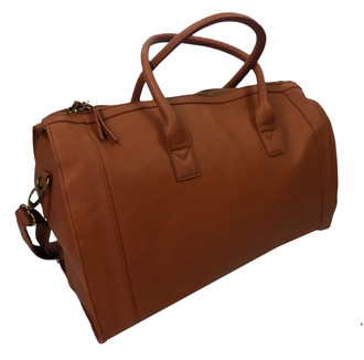 EX A-OS Brown Barrel Bag- £6.00