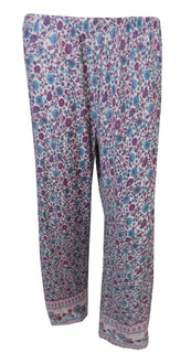Ex Major High Street Ladies Floral  PJ  Bottoms  - £2.25
