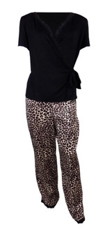 Ex M-S Ladies Animal Pyjama Set - £5.75
