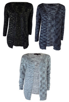 Ex N-w Lo-k  Ladies Fluffy Open Cardigan - £4.25