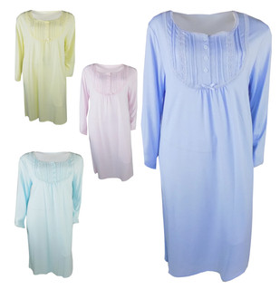 Ex Major High Street Ladies Long Sleeve  Nightdress - £4.95