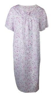 Ex Major High Street Ladies Short Sleeve  Pink Nightdress - £3.75