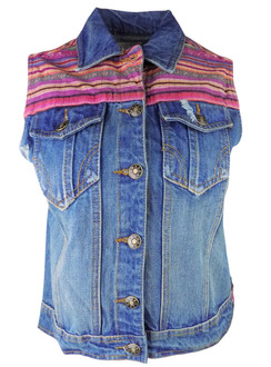 Ex Major High Street Ladies Denim Gilet - WAS £2.75   NOW £1.50