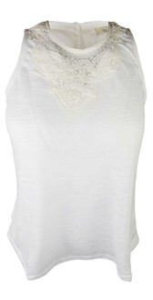Ex Major Highstreet Ladies Sleeveless Crochet Top - £2.75