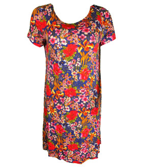 Ex M-S Ladies Scoop Back Swing Dress - £3.95