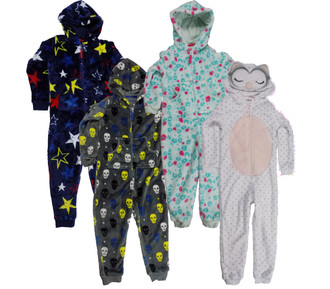 Ex M-S Children Fleece Onesie - £4.95