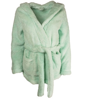 Ex Major Highstreet Ladies Short Hooded Dressing Gown - £4.95