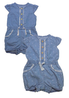 Ex Major Highstreet Girls Rompers  -  £3.00