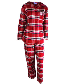 Ex M-S Ladies Check Pyjama Set - £5.95