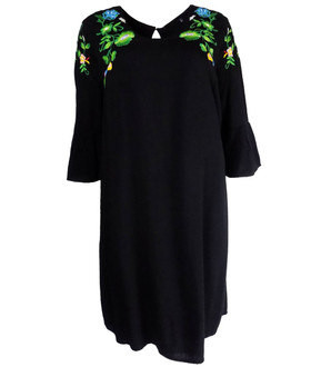 Ex M-S Ladies Emboridered Tunic Dress - £4.95