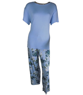 Ex Major Highstreet Ladies Floral Pyjama Set - £5.50