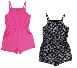 Ex Major Highstreet Girls Twin Pack Jumpsuit  -  £3.50