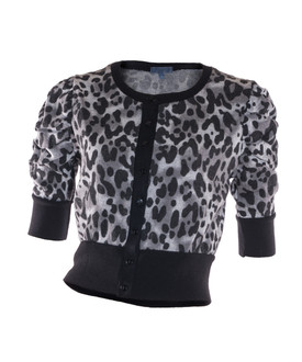Ex Major High Street Ladies Cropped Cardigan - WAS £3.00   NOW £1.50
