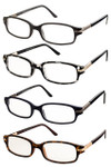 Classic Rectangular Set of Reading Glasses