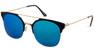 White Round Sunglasses