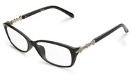 Black Studded Reading Glasses