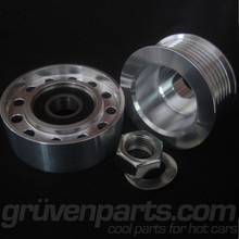 2.0 TSI Lightweight Billet Alternator (Solid) and Tensioner Pulleys