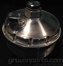 GruvenParts.com Billet Modular 24V Oil Filter Housing Caps