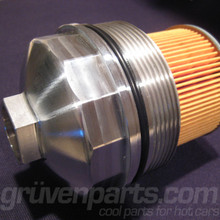 Audi / VW 6 and 8 Cylinder Billet Oil Filter Housing