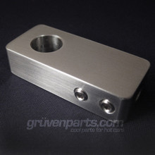 02A Billet Stainless VW Shift Cable Repair Blocks