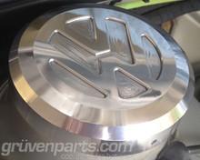 VW Logo Strut Cap - Polished Lightly by Hand