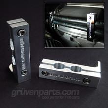 Billet VR6 Fuel Line Support Brackets