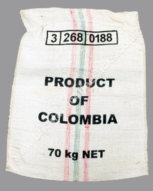 Colombia Bold Thick Weave Coffee Sack