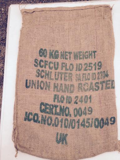 SCFCU Coffee Sack  Sack Front
