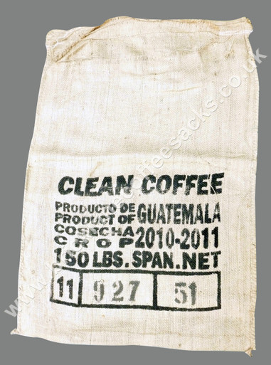 COFFEE SACK CAFE DE LAS TIERRAS FRONT