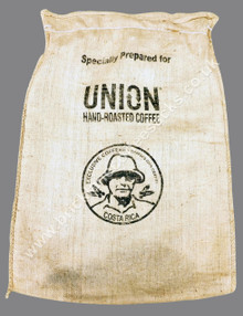 COSTA RICA USED COFFEE SACK FRONT