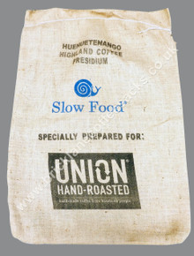 COFFEE SACK SLOW FOOD GUATEMALA BACK