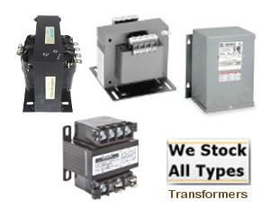 .075KVA GE GENERAL ELECTRIC  GE .075 KVA TRANSFORMER PRIM-120/240V SEC-16/32V