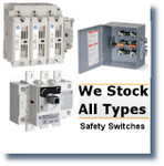 B100 SQUARE D SAFETY SWITCHES