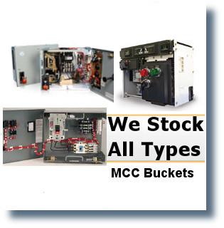 WESTINGHOUSE TYPE W FF 100A WESTINGHOUSE MCC BUCKETS;MCC BUCKETS/FUSED FEEDER