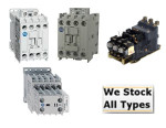 100C37D10 Allen Bradley  37 AMP 120VAC IEC CONTACTOR