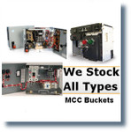 "GE 8000 6"" BF 20A SELA GENERAL ELECTRIC MCC BUCKETS;MCC BUCKETS/BREAKER FEEDER"