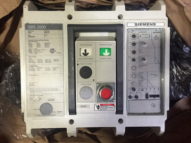 SBS2020 insulated case circuit breaker with 2000A trip