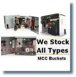 ALLIS CHALMERS VALUE LINE MARK 1 TBF 50A FD Siemens MCC BUCKETS;MCC BUCKETS/BREAKER FEEDER