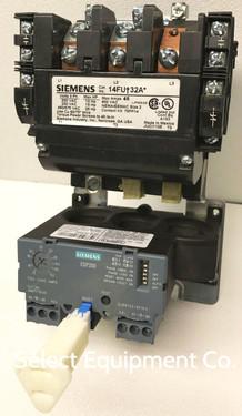 14FU+32AA Siemens Nema Size 2 motor starter, ESP200 solid state overload relay